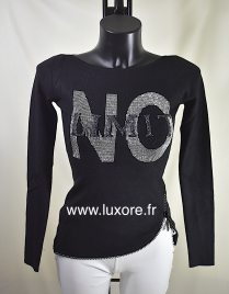 Pull NO LIMIT noir